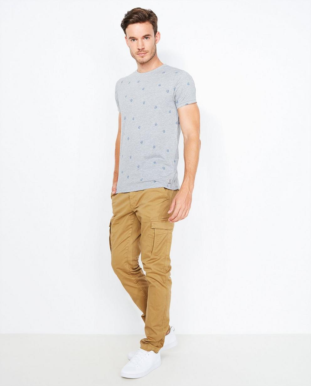 Pantalon cargo brun - slim fit - Quarterback